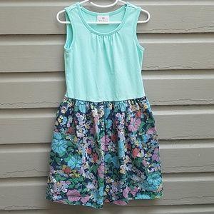 Jean skirt tank dress